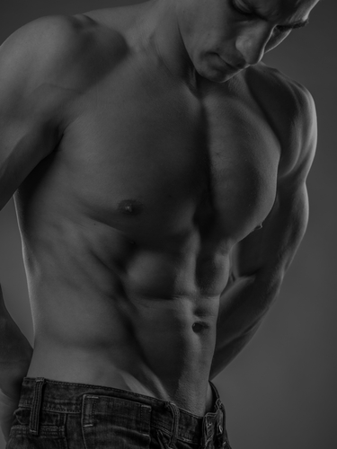 muscular and fit young man posing shirtless-img-blog